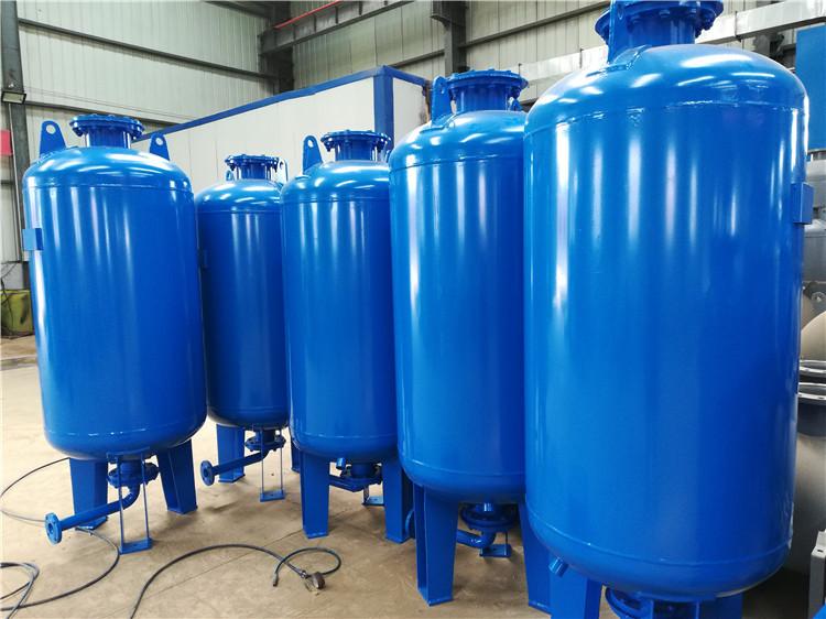 隔膜式气压罐生产商解答变频给水设备如何合理的配置隔膜式气压罐