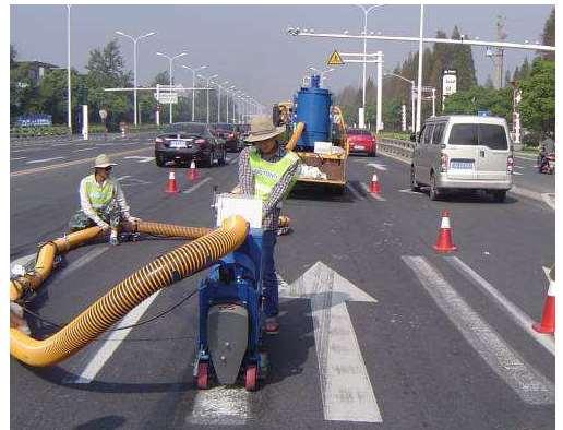 道路标线清除有哪些方法