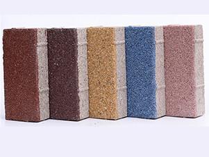 厂家今日讲解PC仿石透水砖的特点有哪些?