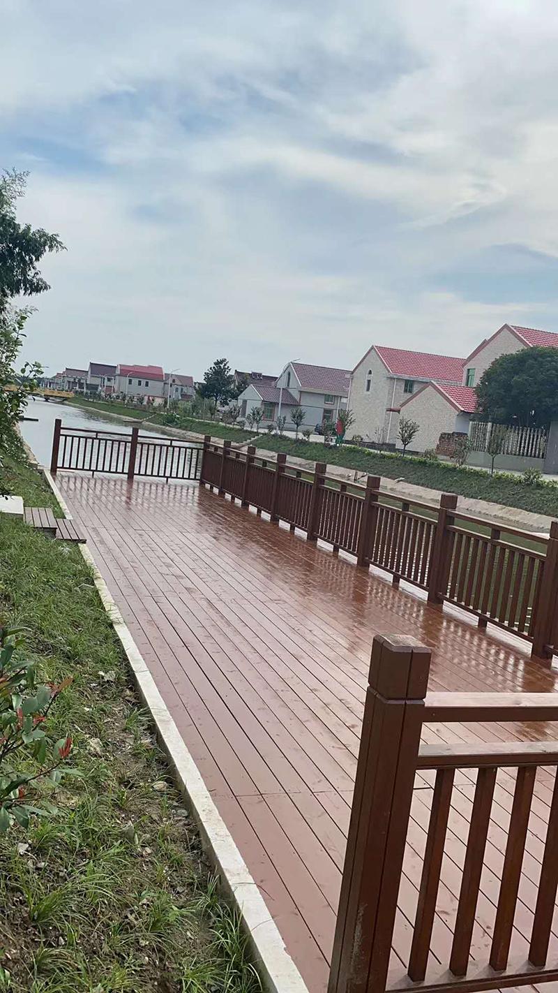 公园防腐木木栈道