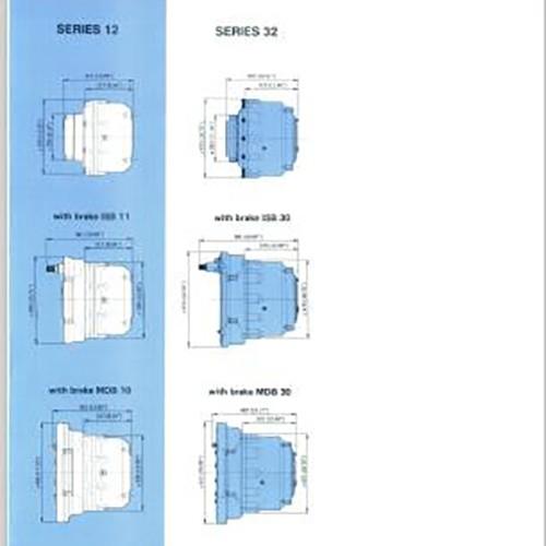 行走马达产品12-00850