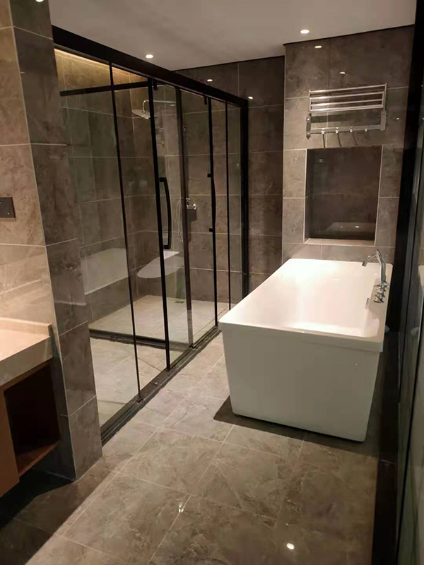 酒店淋浴房隔斷