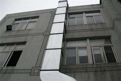 宾馆酒店外墙通风管道