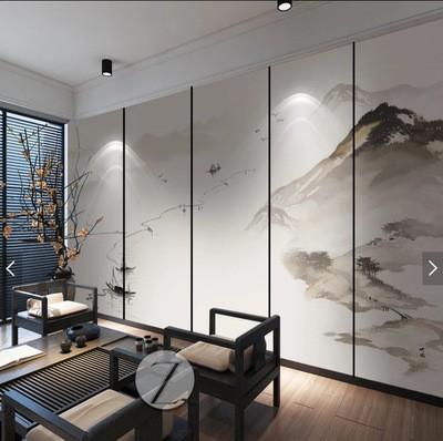 颠覆传统形式的布艺墙板