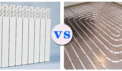 暖气片和地暖有什么区别?自己家装修到底用暖气片好还是地暖好?