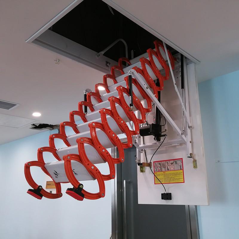 铝镁合金伸缩楼梯