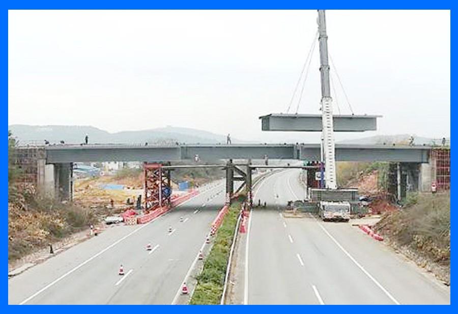 柳东新区管廊钢箱梁工程