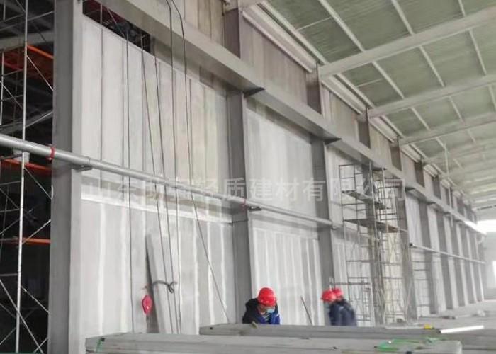 关于GRC轻质隔墙板施工安装过程的详细介绍