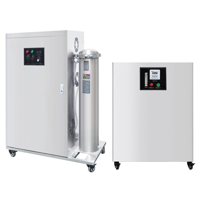 臭氧设备的构成及工作参数