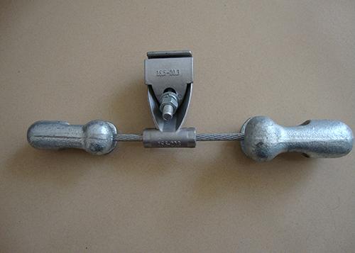OPGW光缆金具预绞丝垂悬线夹特性