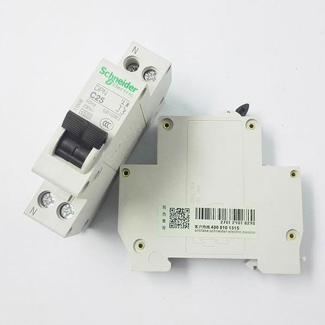 施耐德DPNaN系列小型断路器