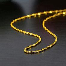 黄金项链首饰