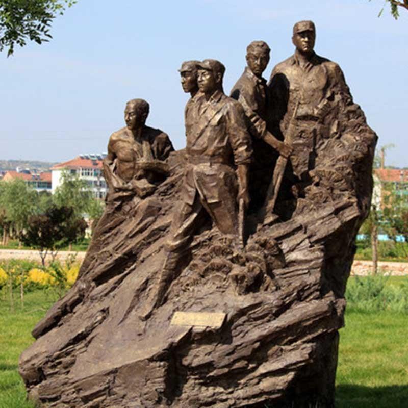 狼牙山五壮士雕塑