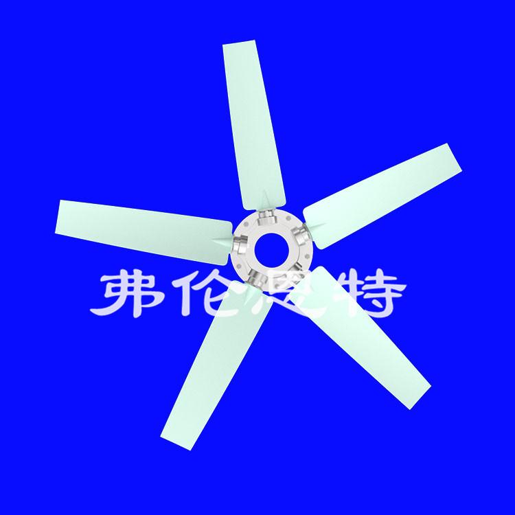 冷却器叶轮不同的结构造型有什么区别