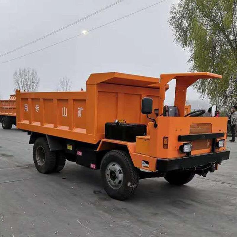 地下矿区运输神器,地下卡车,一次能装载63吨货物