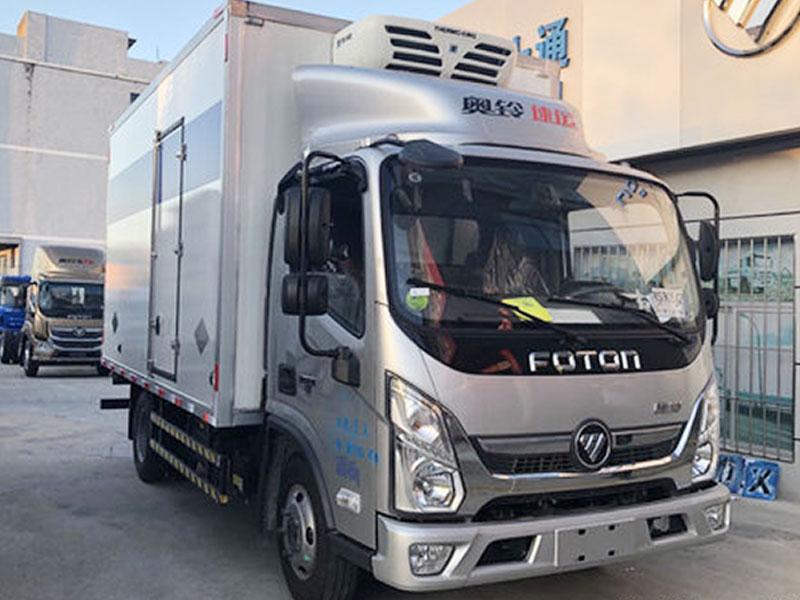 福田 奥铃速运 131马力 4X2 4.085米冷藏车