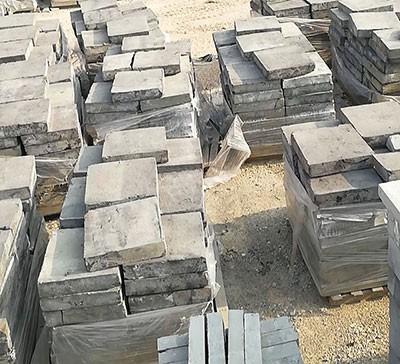 纯粘土土窑400-400-80手工砖坯