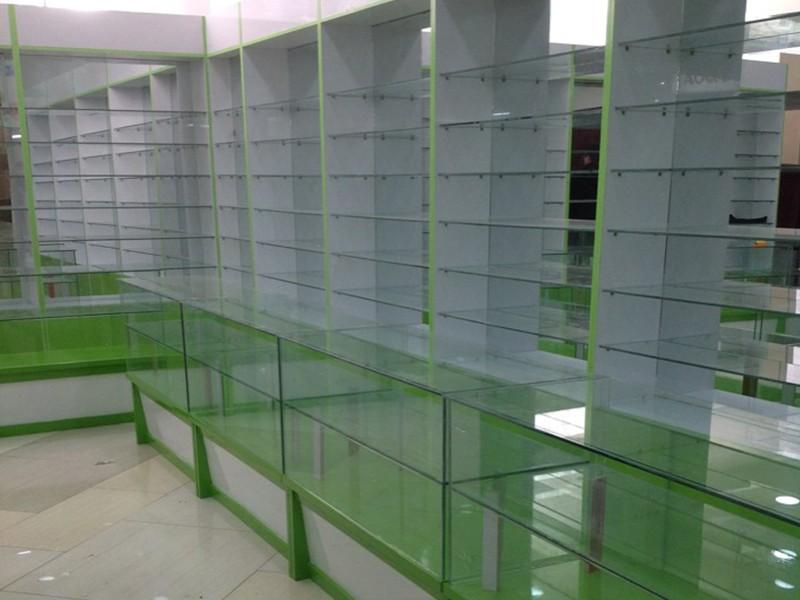 玻璃藥店展柜