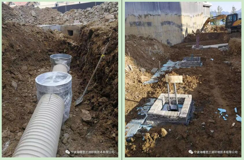 海绵城市雨水收集PP模块施工