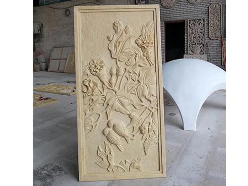 砂岩浮雕石材采用防护层有什么好处?