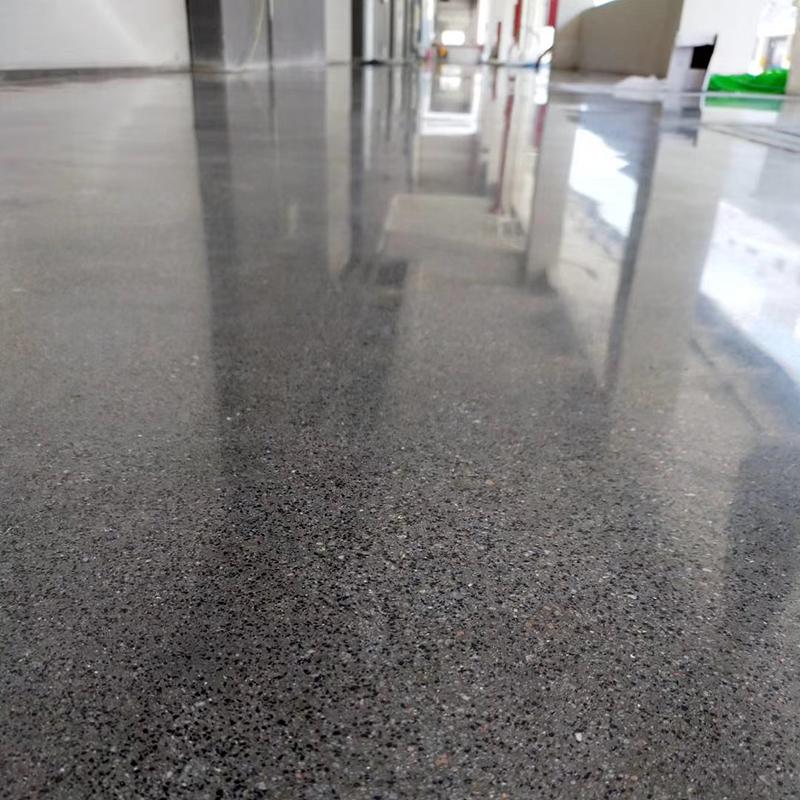 工业地板—金刚砂硬化耐磨地板施工过程