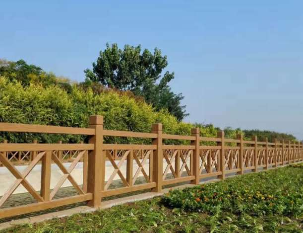 仿木护栏的尺寸设计要求