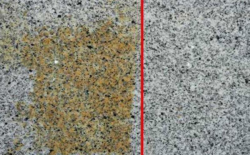 石材发生绣黄的原因是什么怎么处理好