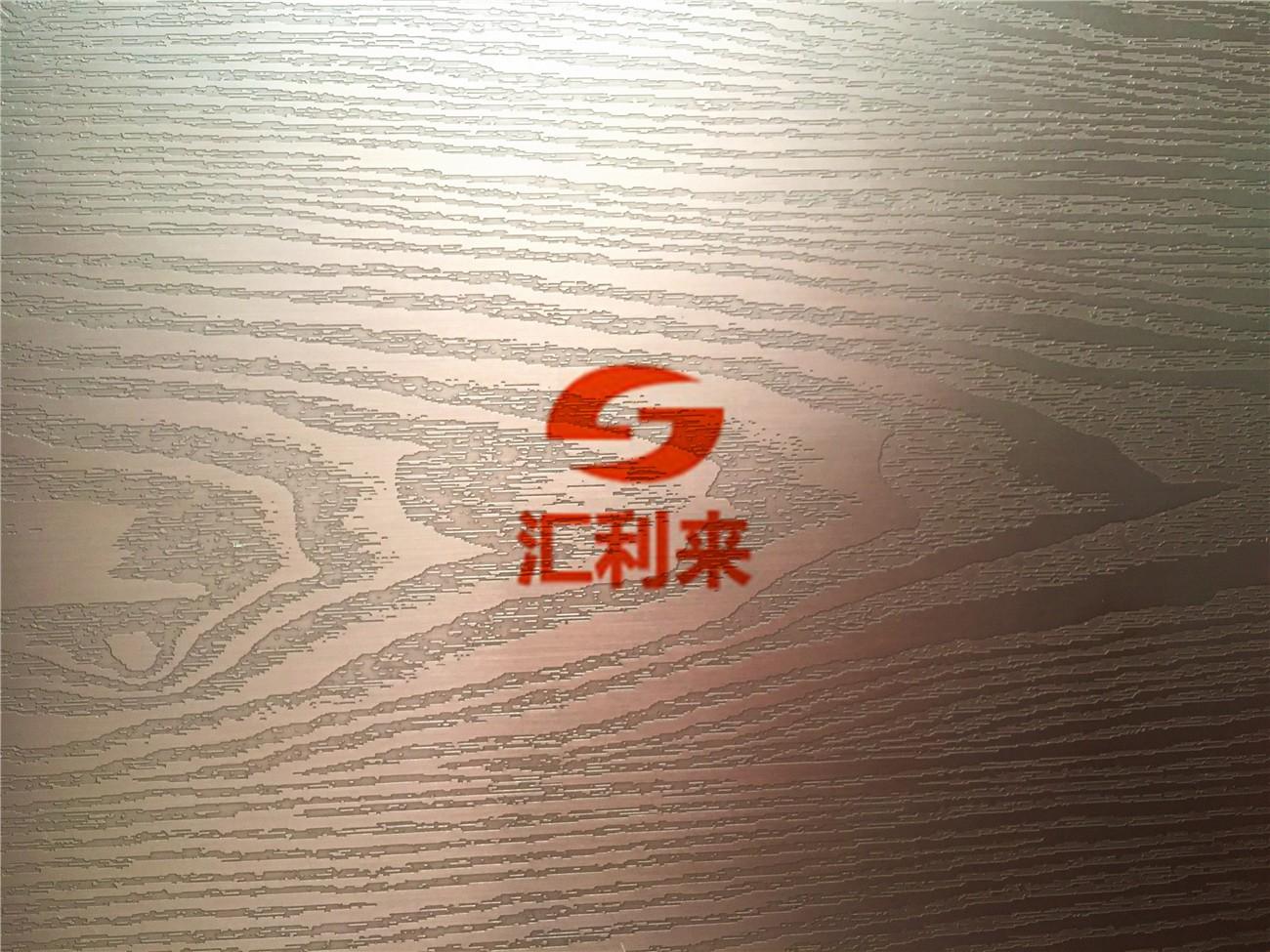 蚀刻木纹不锈钢彩板