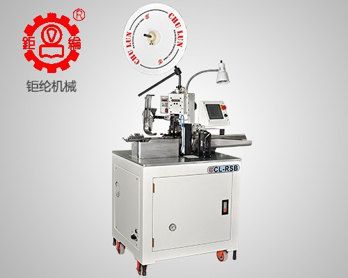 Automatic terminal crimping and twisting machine (single head waterproof bolt)