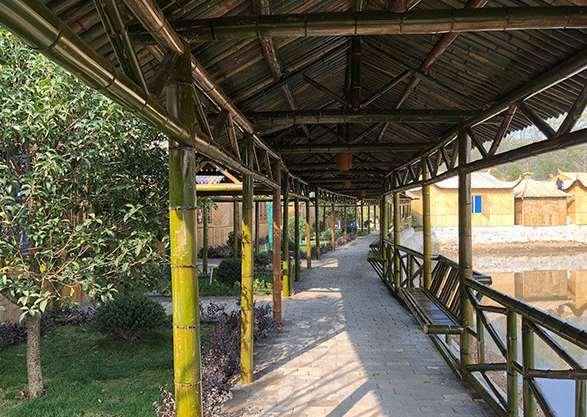 竹长廊的设计事项要把控好