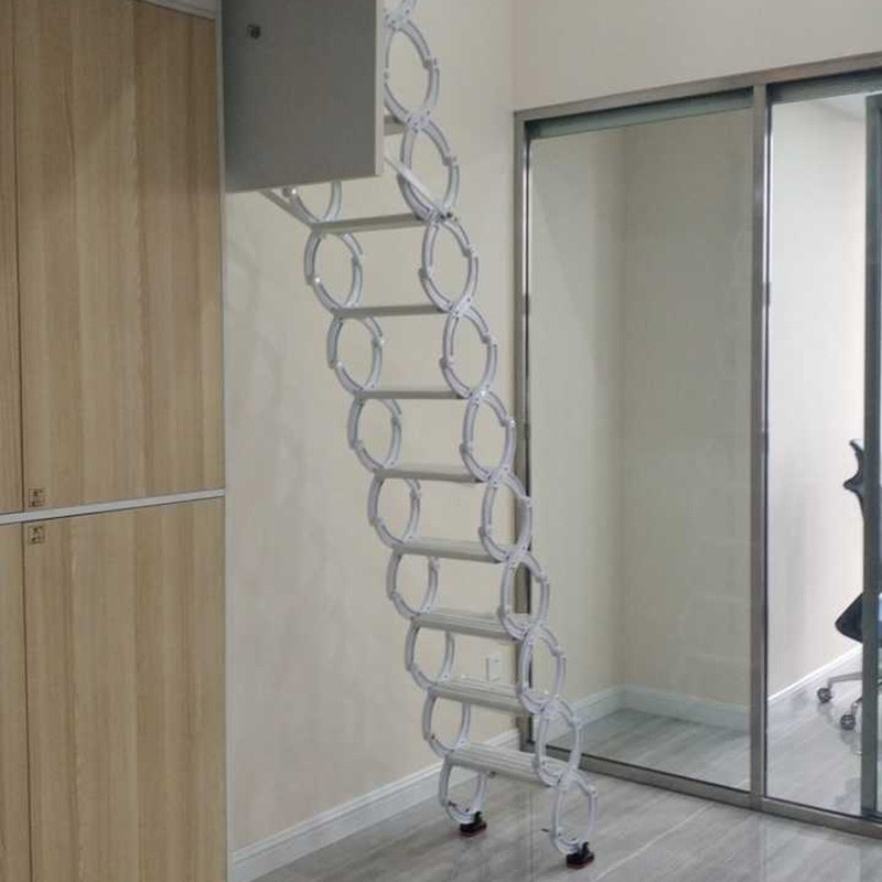 碳钢阁楼伸缩楼梯