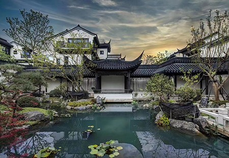 杭州-綠城桃園小鎮