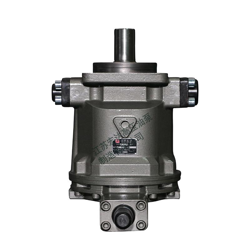 轴向柱塞泵是否有自吸能力?