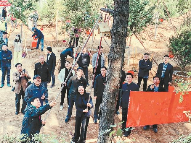 """北京市25家""""互联网+""""义务植树基地年内建成"""
