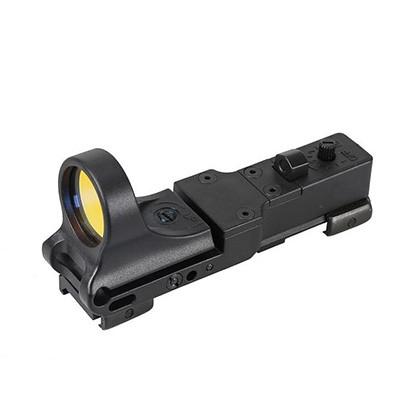黑色开放式内红点瞄准镜