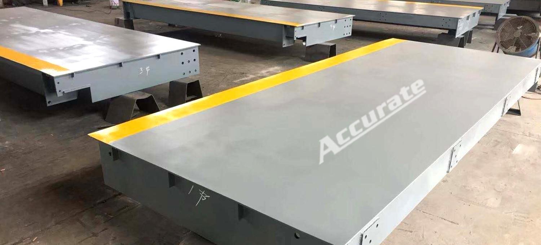 艾克瑞衡器讲解大型地磅的安装与防护措施