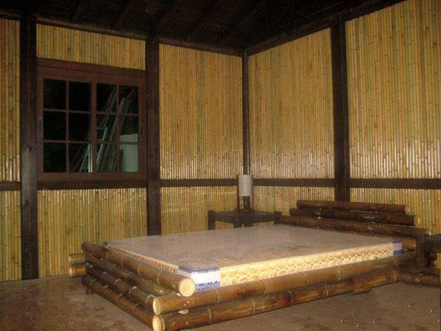 室内竹装修施工