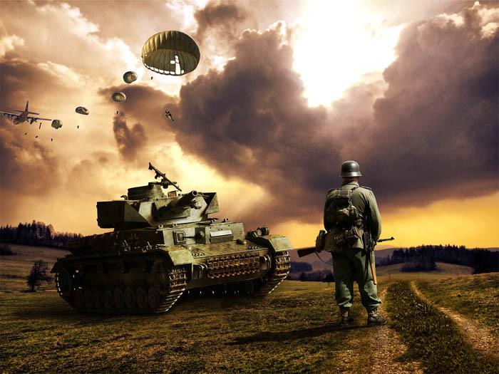 """假目标""""战术:二战期间屡建奇功"""