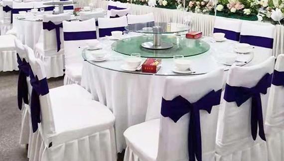 酒店餐桌白色