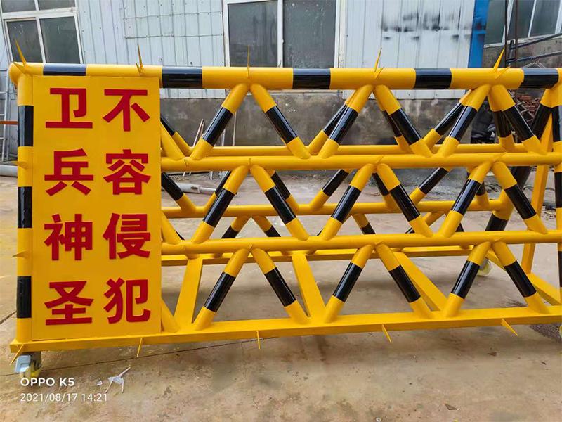 济南拒马护栏价格