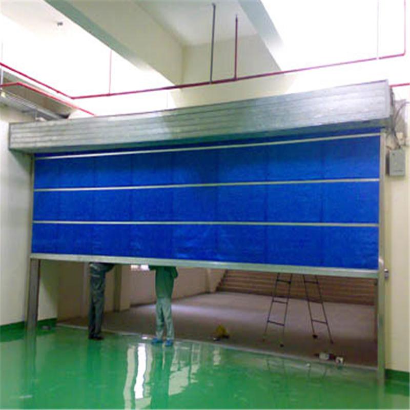 东莞防火卷闸门厂告诉您郑州防火卷闸门安装方法: