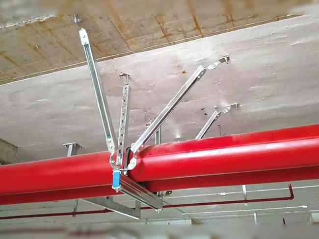 两管抗震支吊架