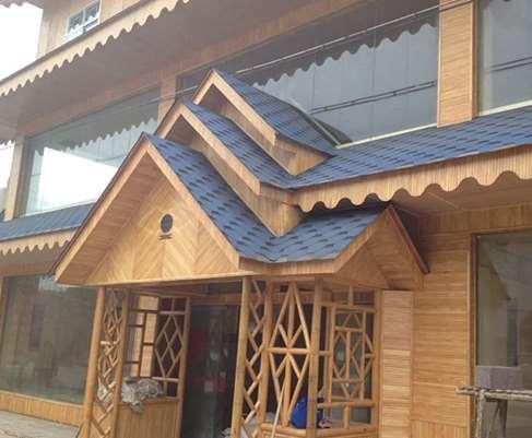 竹屋是一种低碳环保建筑
