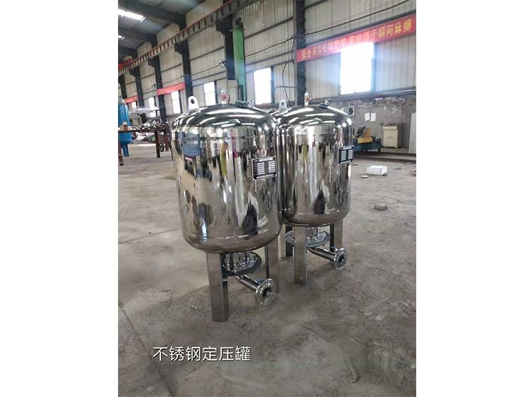 隔膜式气压罐厂家告诉您怎样安全的来使用隔膜式气压罐