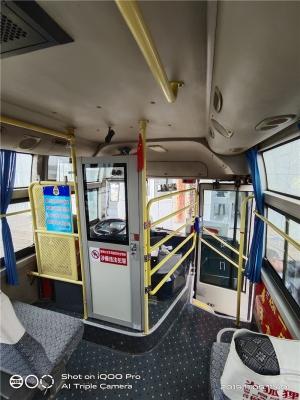 同兴前置发动机公交车加装司机防护
