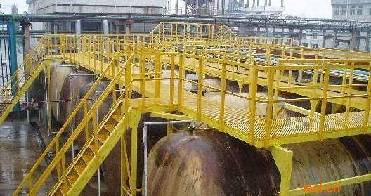 化工厂玻璃钢操作平台