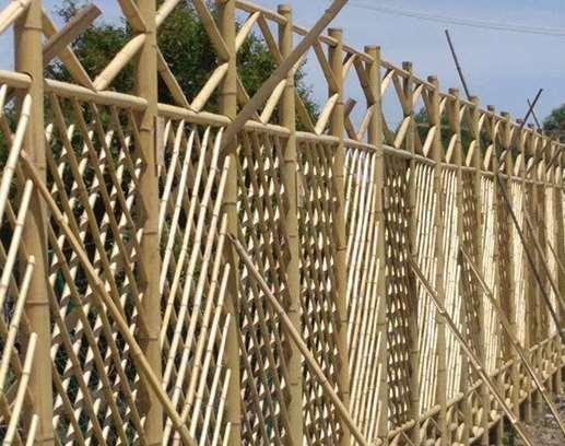 竹篱笆的搭设方法说明
