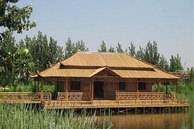 景区竹房子
