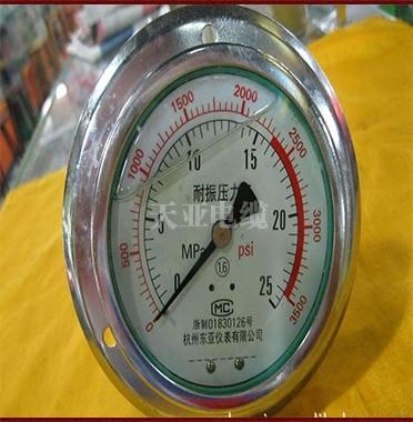 银川耐震压力表