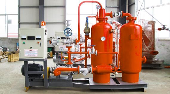 带您了解蒸汽冷凝水回收装置工作流程